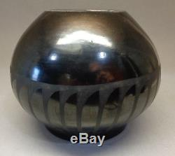 San Ildefonso Marie and Julian Pottery Bowl by Maria Martinez c. 1925-1943