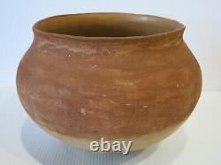 San Juan Pueblo Plainware Micaceous Pot ca 1880 Lloyd Albright Painting Prop