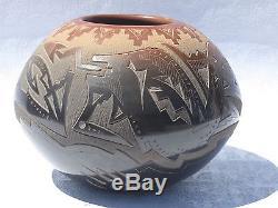 Santa Clara Native American Pottery Sammy Naranjo