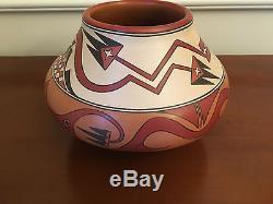 Santa Clara Pottery Double Avanyu by Lois Gutierrez Native American