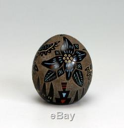 Santa Clara Pueblo Indian Pottery Hummingbird Seed Pot Ray Tafoya