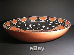 Santo Domingo Kewa Pueblo Pottery by Tenorio LARGE 18-inch Bowl