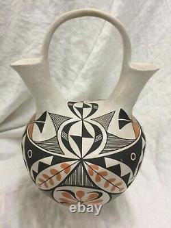 Sarah Garcia Wedding Vase 16 tall x 10 wide Acoma Native American