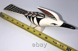 Sarracino Signed Acoma Pueblo N. M. Native American Pottery 12 Bird