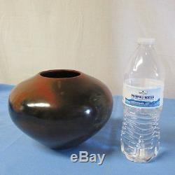 Signed Native American Indian Navajo Pottery Vase Alice Cling Lot A