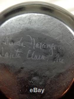 Signed Southwest Native American Pottery by Glenda Naranjo Santa Clara Pueblo