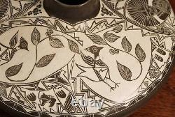 Southwest Native American Laguna Pueblo Pottery Signed By S. R. Garcia