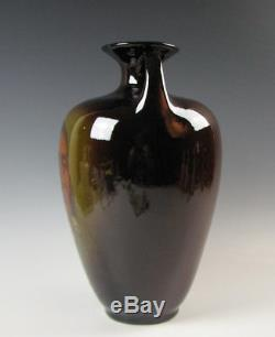 Standard Glaze Roseville Rozane Art Pottery Portrait Vase Native American Indian