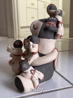 Storyteller Pottery Doll By Jemez Pueblo Artist Mary Ellen Toya Native American