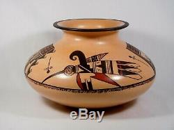Stunning Hopi Indian Pottery By Award Winning Artist Agnes Nahsonhoya Setalla