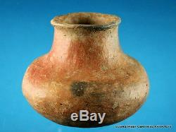 Super Fine Authentic Flared Rim G-10 Pottery Water Bottle Arrowheads Artifacts