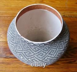 Superb Acoma Nm Pueblo Native American Pottery Melissa Antonio-price Reduced
