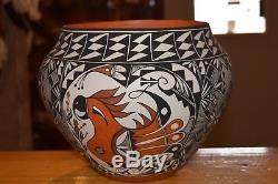 Superb Roberta Sky Trujillo Hand Painted Olla Awesome! Free Ship