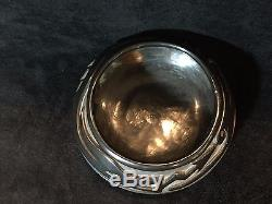TERESITA NARANJO Santa Clara Carved Blackware Bowl