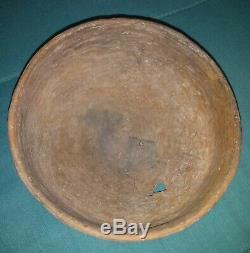 Texas Caddo Decorated Mixing Bowl Native American Indian Pottery