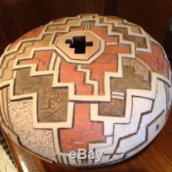 Tom Polacca Hopi Pottery Monsoon Over Hopiland