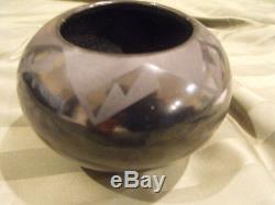 Tonita Roybal San Indelfonso Native American Pottery Bowl