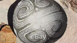 Tularosa, Reserve Black on White Bowl, Anasazi No Restoration Prehistoric Pueblo