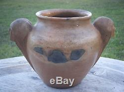 Vtg Native American Cherokee Nc Pot Vase Pottery By Maude Welch (1894-1953)