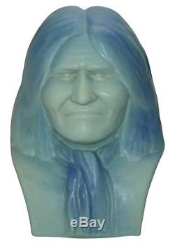 Van Briggle Pottery Limited Edition Bust Of Native American Geronimo