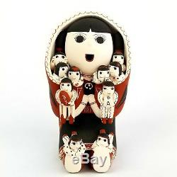 Vangie Suina Native American Cochiti Pueblo Pottery Storyteller