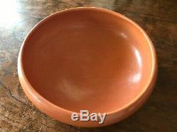 Verla Dewakuku Native American Hopi Indian Pottery Bowl 10 Diameter 3.75 Tall