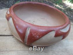 Vintage 1973 Margaret Tafoya 6 Carved Bowl Santa Clara Pottery Native American