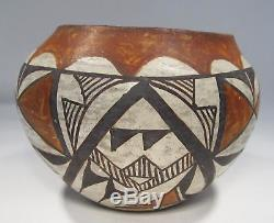 Vintage Acoma Pueblo Native American Indian Pottery Signed NP-2