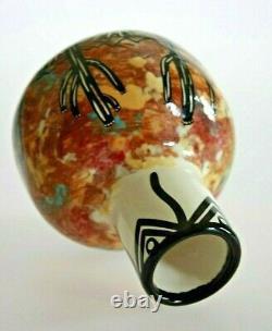 Vintage Apache Native American Hand Made Pottery Jug & Mug Hand painted Mana