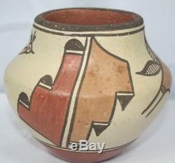 Vintage Elizabeth Medina Zia Pueblo Native American Southwest Pottery Pot Bowl
