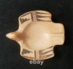 Vintage Hopi Pottery Bird Pottery by PATRICIA HONIE 5 x 4.25