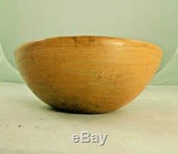 Vintage Hopi Pottery Bowl Native American Indian 6.5 X 2.5
