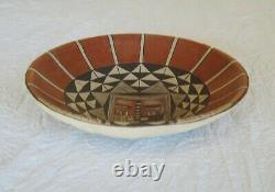 Vintage Native American Dextra Nampeho (hopi) Plate, Famous Artist, Museum Piece