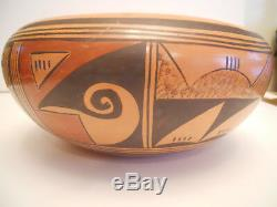 Vintage Native American Hopi Pot