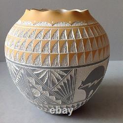 Vintage Native American Pueblo Acoma Pottery Southwestern