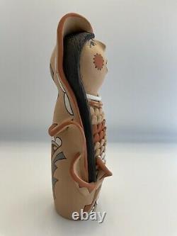 Vintage Native American Pueblo Storyteller Doll By Emily Fragua Tsosie Jemez 10