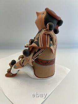 Vintage Native American Pueblo Storyteller Doll By Mary Lucero Jemez 7
