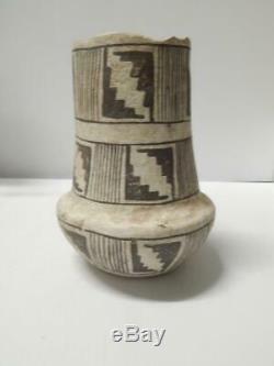 Vintage Pueblo Indian Pottery Mug / Cup Pot 1995 Anasazi Design Signed Figural