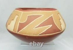 Vintage San Juan Ohkay Owingeh Revival Pottery (Marked 1939 Taos)