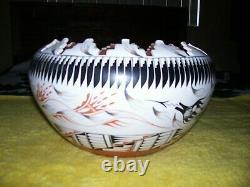 Vintage V Tafoya Jemez New Mexico Large Native American Pot