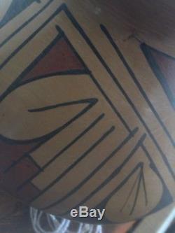 Vintage pottery bowl very old piece! Found in my Navajo Aunts Hogan floor
