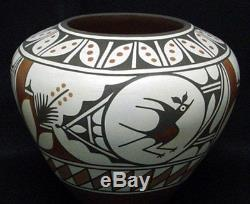 Zia Pueblo Indian 10 Zia Bird / Polychrome Pottery by Ruby Panana