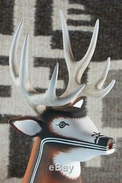 Zuni Deer Pottery Deldrick Cellicion
