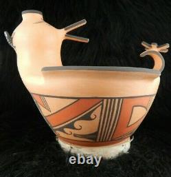 Zuni Duck Pottery Agnes Peynetsa Zuni Handmade Pottery Native American