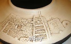 Zuni Pueblo Handmade Vintage Bear Bowl by VERNON & DESIREE CALAVAZA RARE